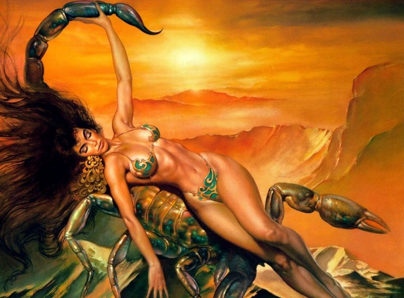 порно фото телец скорпион ревнивец значит
