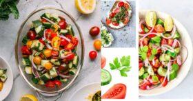отслабване с диета с домати и краставици