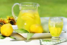 Вода с лимон
