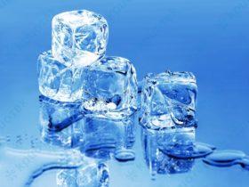 Вижте какво прави кубче лед с кожата ви
