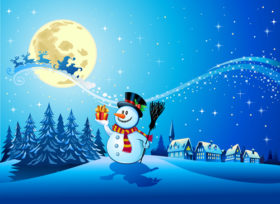beautiful-christmas-night-winter-vector-background-01