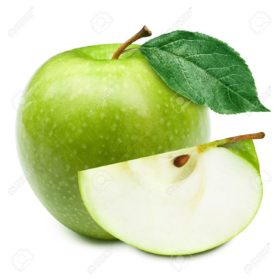 11684106-green-apples-and-half-of-apple-isolated-on-a-white-background