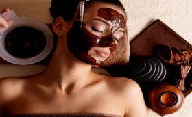 маска за лице с шоколад